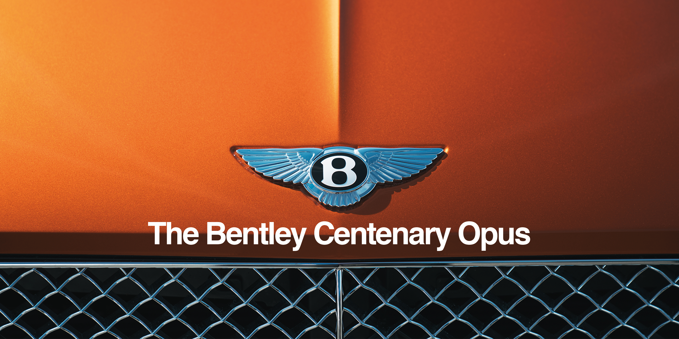 BENTLEY CENTENARY OPUS