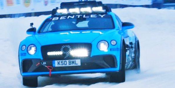 Bentley-Continental-GT-GP-Ice-Race-video